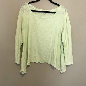 Eileen Fisher 100% Organic Cotton Long Sleeve